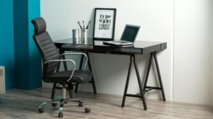 Chaise de bureau en photo
