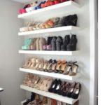 photo d'une etagere à chaussure