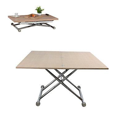photo d'une table basse relevable