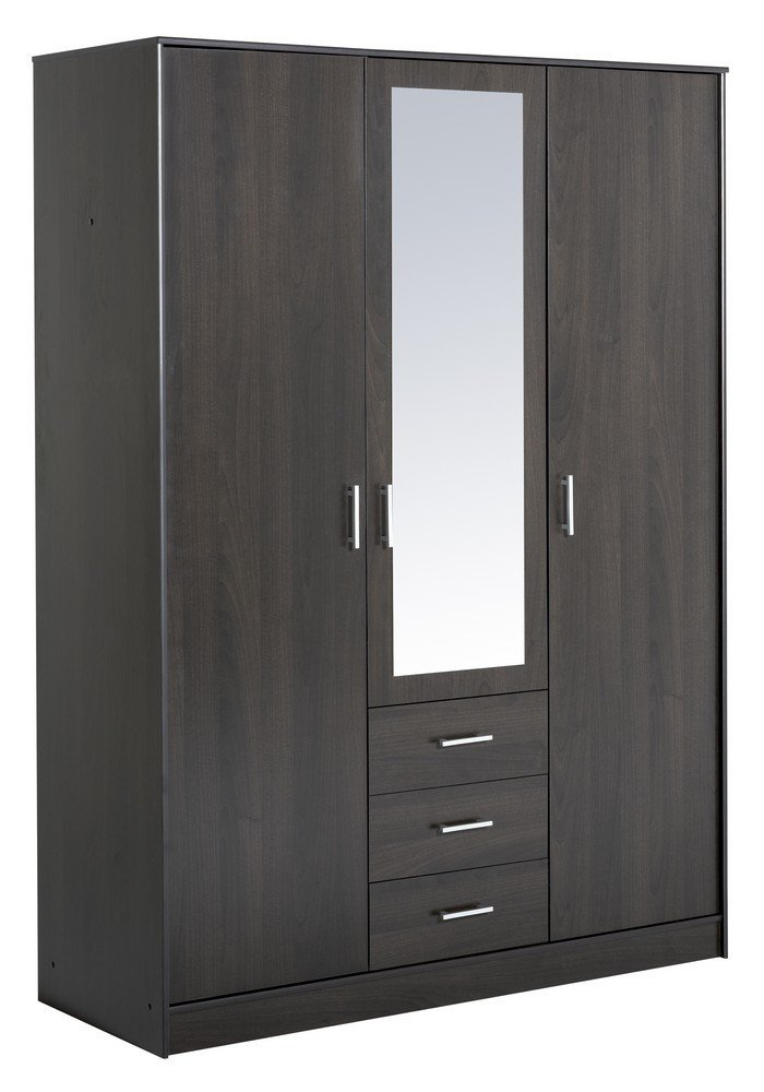 armoire de chambre conforama. Black Bedroom Furniture Sets. Home Design Ideas