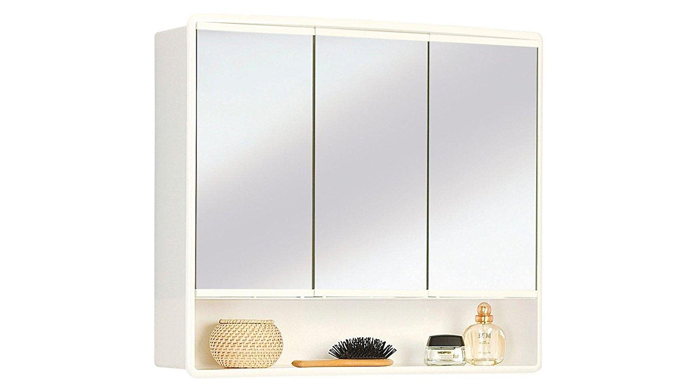 Armoire salle de bain miroir pas cher for Miroir blanc pas cher