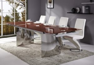 image montrant une table a manger design