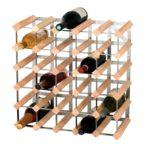 illustration d'un range bouteille en bois