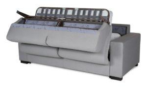 canape convertible gris en image