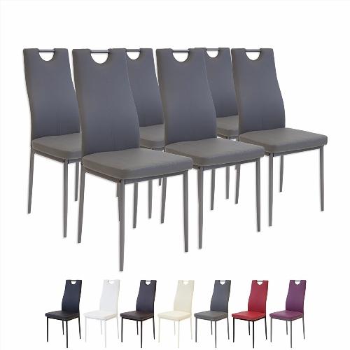 Chaise de salle a manger sur roulette for Modeles chaises salle manger