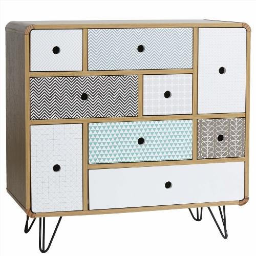 commode chambre bois brut. Black Bedroom Furniture Sets. Home Design Ideas