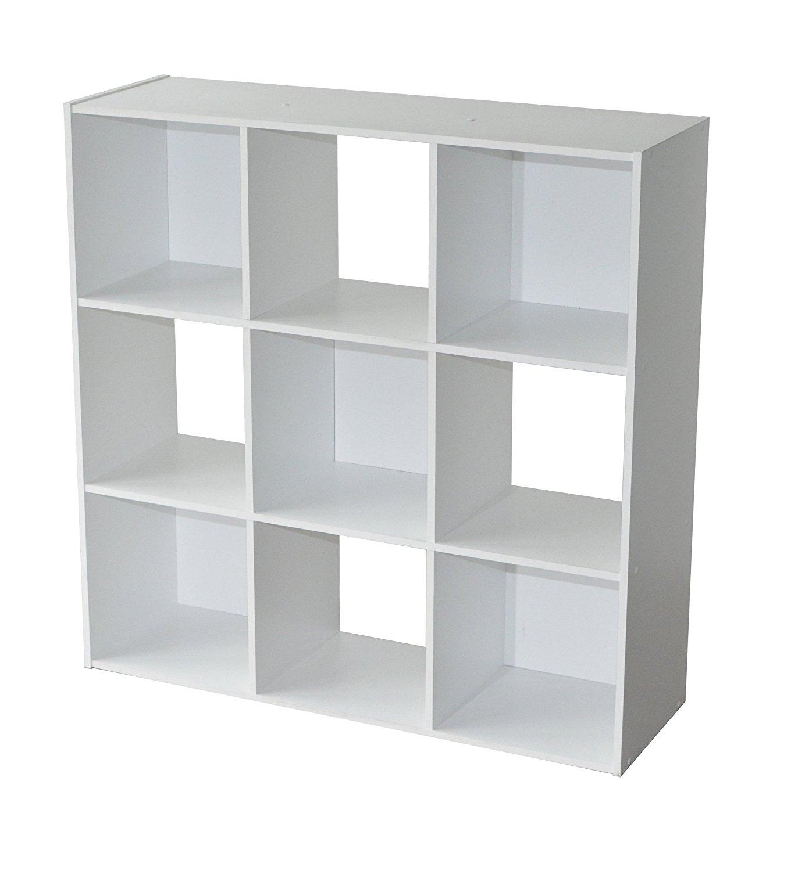 etagere de rangement blanc