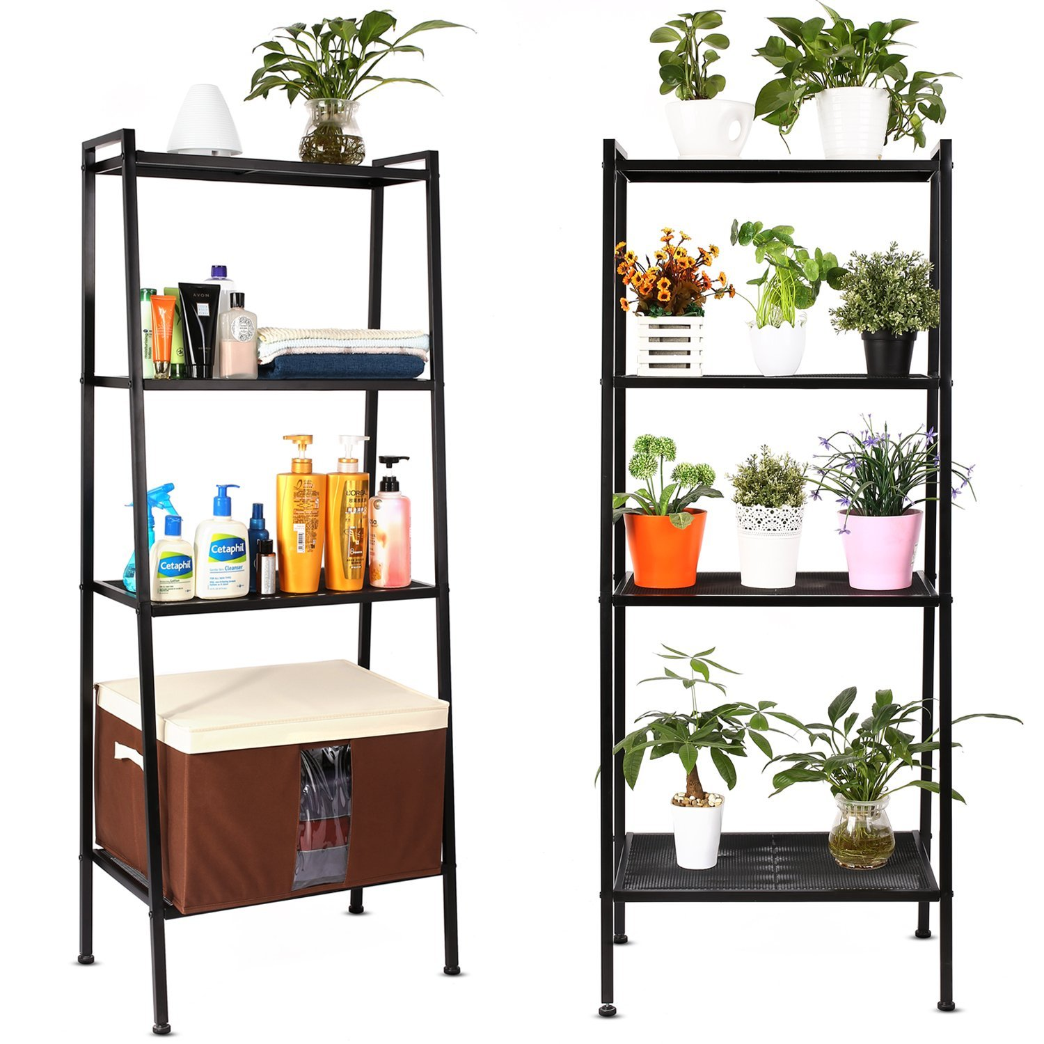 etagere noire metal. Black Bedroom Furniture Sets. Home Design Ideas