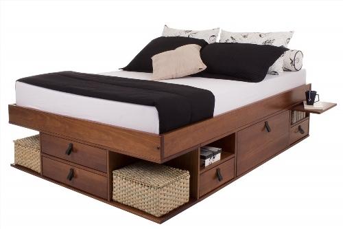 lit deux places pour ado. Black Bedroom Furniture Sets. Home Design Ideas