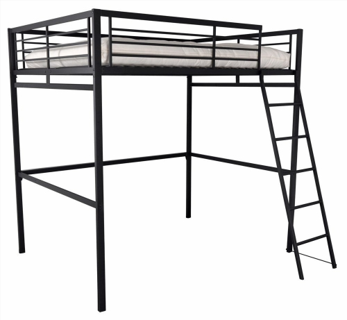 lit mezzanine une personne ikea. Black Bedroom Furniture Sets. Home Design Ideas