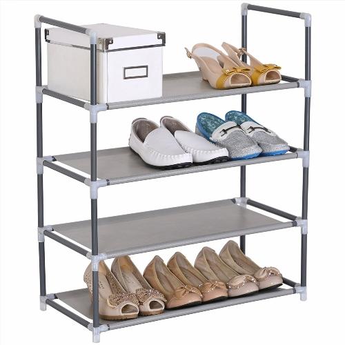 meuble chaussures sous escalier