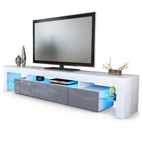 Meuble tv bas et long ikea for Meuble bas tv led