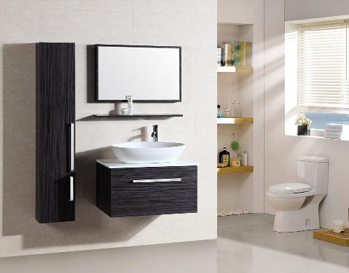 meuble une vasque en bois