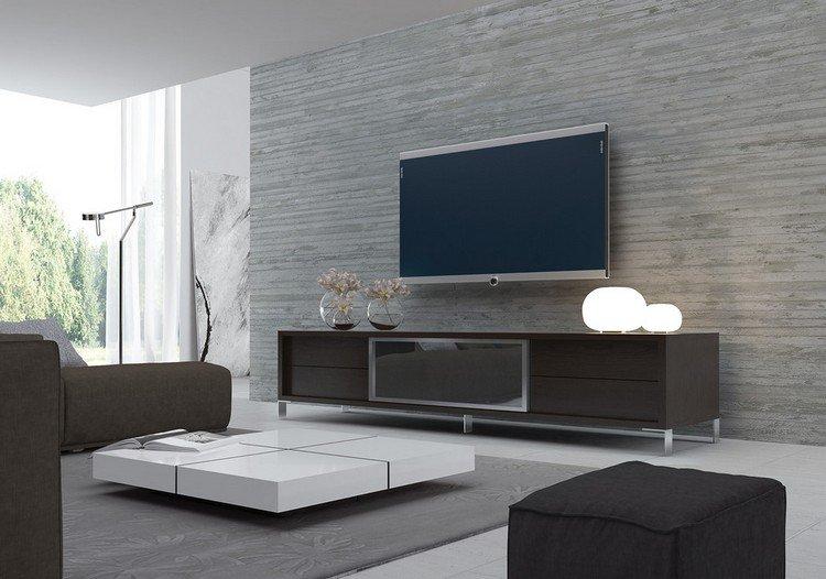 illustration d'un meuble bas pour tv