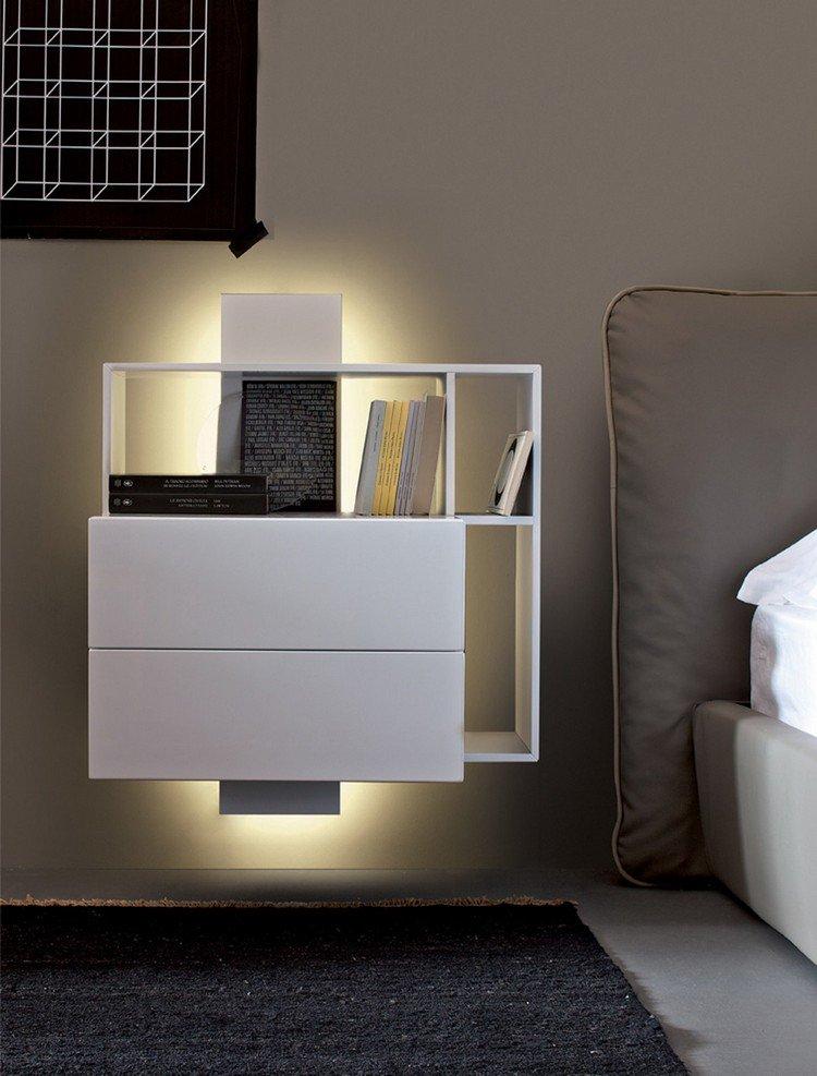 table de chevet. Black Bedroom Furniture Sets. Home Design Ideas