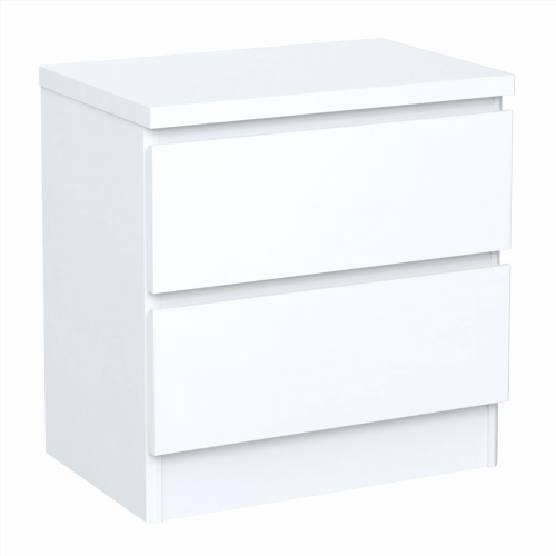 Table de chevet ikea malm for Table blanche ikea