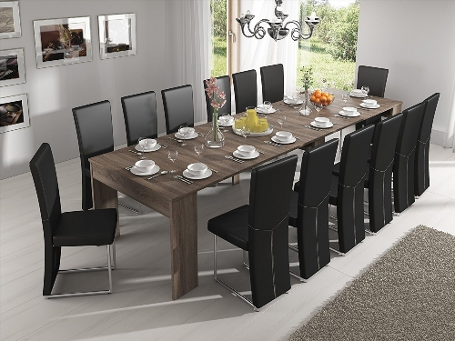 table salle a manger wenge