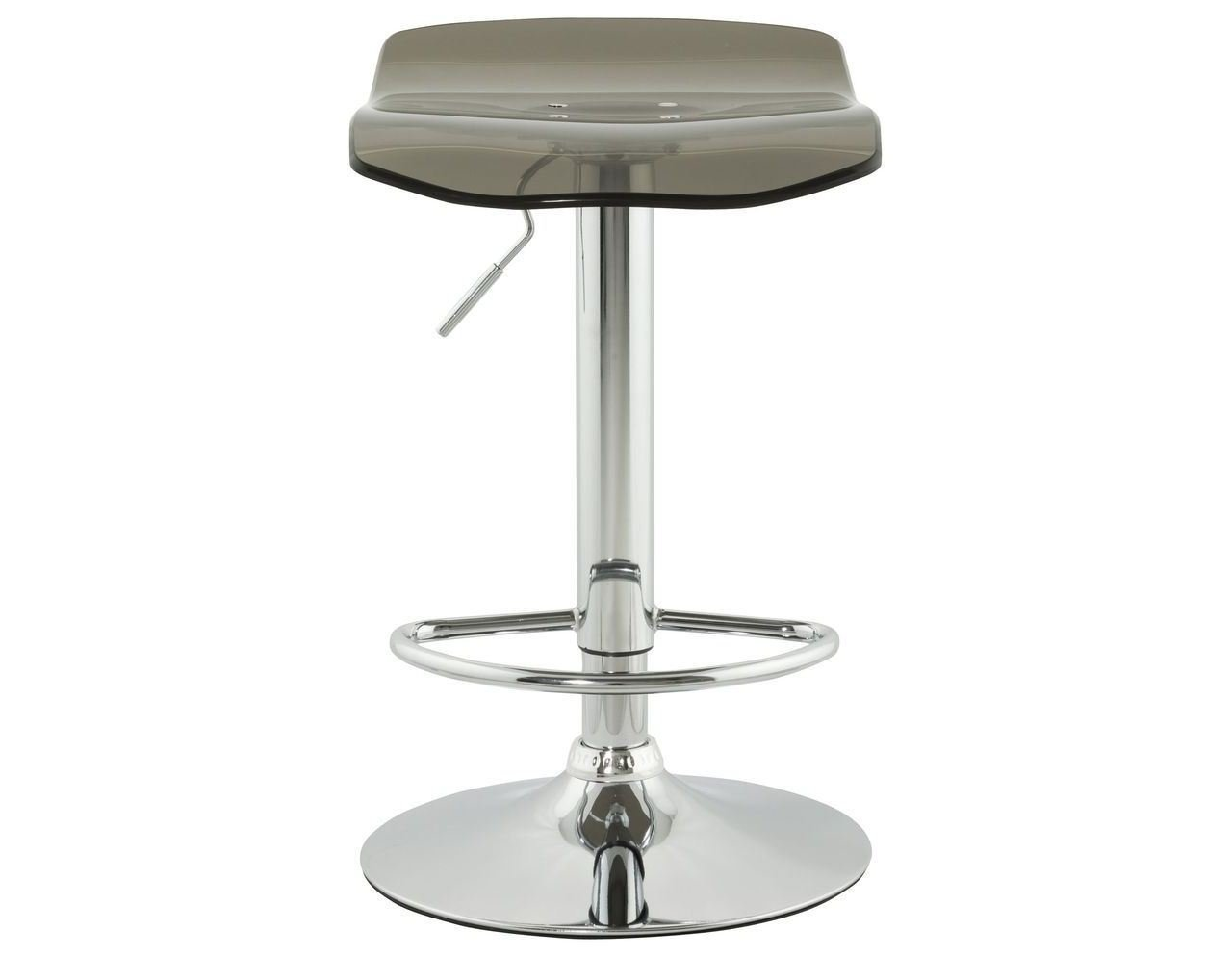 Tabouret de bar plexiglas for Tabouret table de chevet